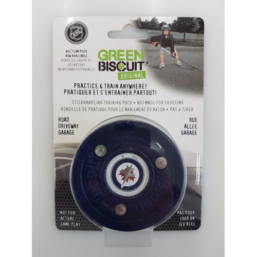 Green Biscuit NHL Winnipeg Jets
