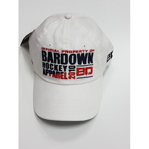 Kšiltovka BarDown bílá Official BD