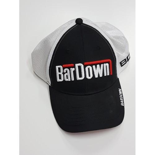 Kšiltovka BarDown černo-bílá