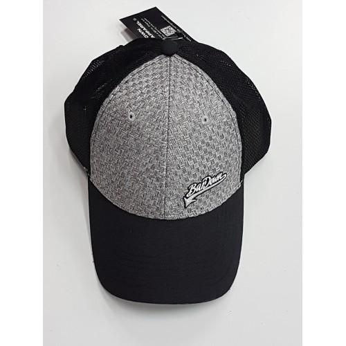 Kšiltovka BarDown šedo-černá